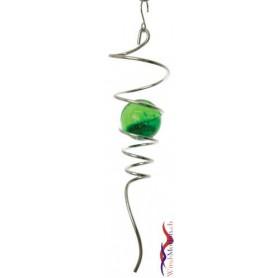 Kugel Spirale Grün