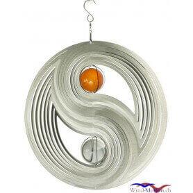 Yin Yan (30cm) Edelstahlwindspiel