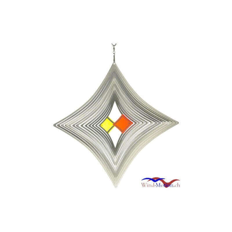 Windspiel Stern in Motion (30 cm) Made in Germany