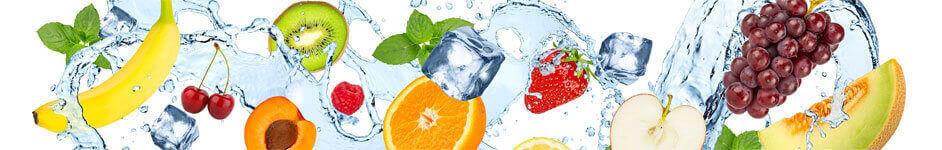 Unsere Fruchtflaschen sind in 7 attraktiven Farben erhältlich!