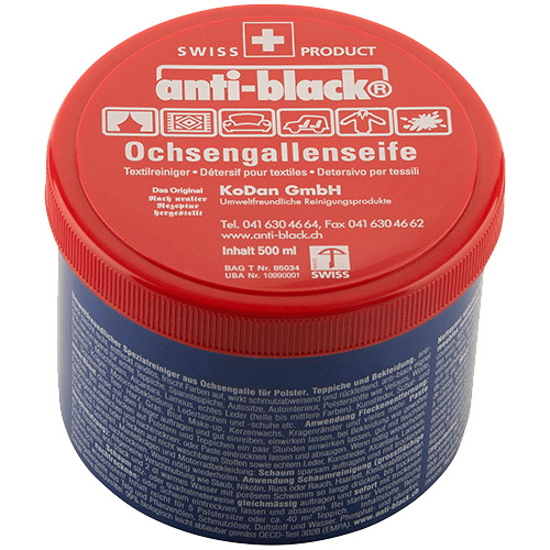 anti-black Ochsengallenseife 500gr. Dose