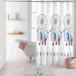Duschvorhang von Badeking: modell Amerika Indian