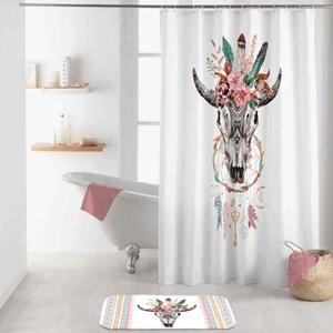 Duschvorhang Büffel-Spiritus von BadeKing, 180 x 200 cmDuschvorhang von Badeking: modell Amerika Indian