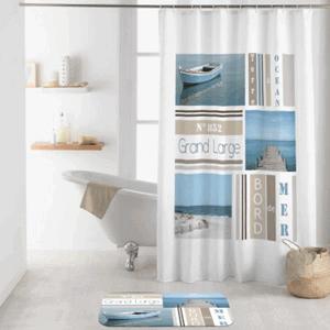 Duschvorhang Ocean von BadeKing, 180 x 200 cm