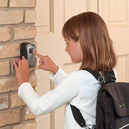 Zur sicheren Aufbewahrung von Schlüsseln und anderen Wertgegenständen