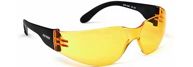 RED ROCK Brille Cobra Gelb
