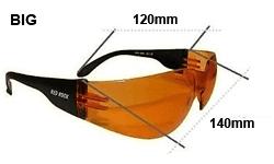 Redrock Brillen sind in zwei Grössen erhältlichundefined