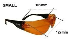 Redrock Sportbrillen sind in zwei Grössen erhältlichundefined