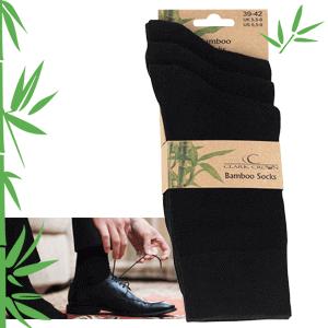 Bambus Socken nachhaltig verpackt