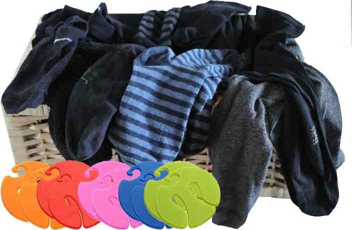 Sockenking Socken Clips