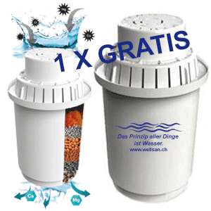 Der Filter ist kompatibel mit anderen Wasserfilter wie ECAIA etc. Mit diesen Filtern reinigen uns beleben sie Ihr Wasser.