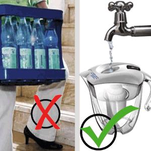 Wasser direkt aus dem Wasserhahn bei Ihnen zu Hause beziehen