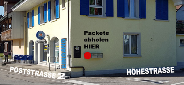 Packet in Wynau abholen